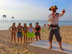 Казантип 2017 - Эпизод на Фукуоке во Вьетнаме свадьбы, день боярского, шары в небо