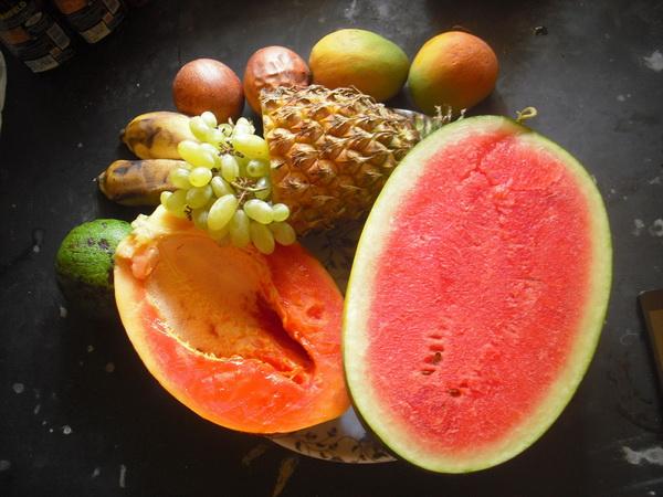 что привезти с собой из Индии фрукты