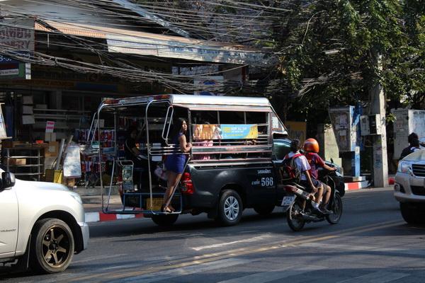 сангтео тук туки в паттайе таиланде