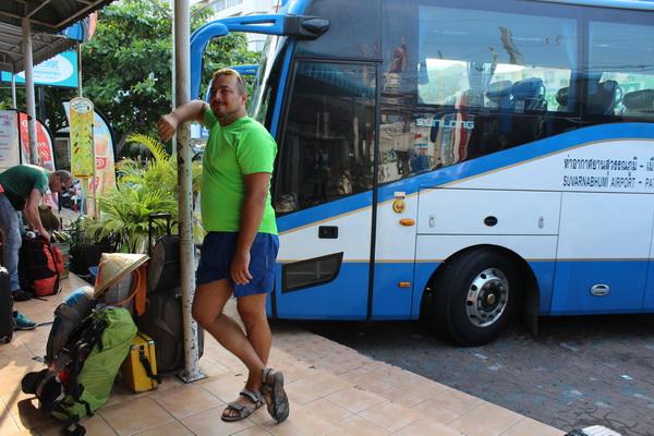 поездка в таиланд самостоятельно в паттайю на автобусе до аэропорта суварнабхуми