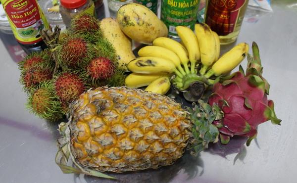 фрукты Вьетнама в 2017 году на острове Фукуок, стоимость, вкус, впечатления и что стоит попробовать бананы