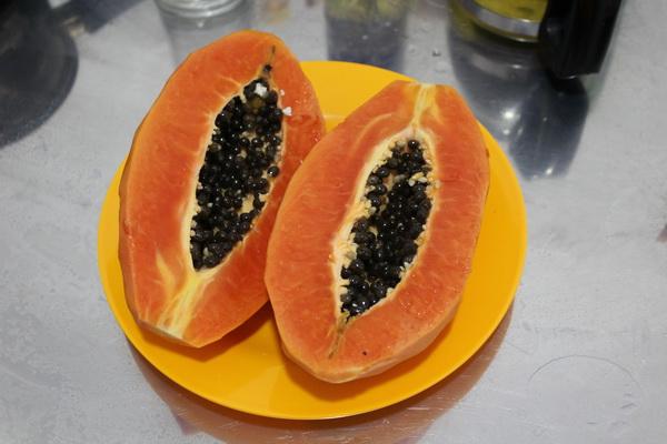 фрукты Вьетнама в 2017 году на острове Фукуок, стоимость, вкус, впечатления и что стоит попробовать папайя
