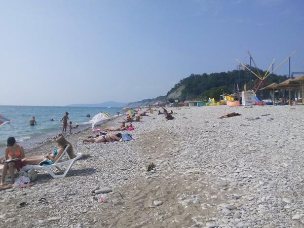 недорогой отдых на Чёрном море в Краснодарском крае летом