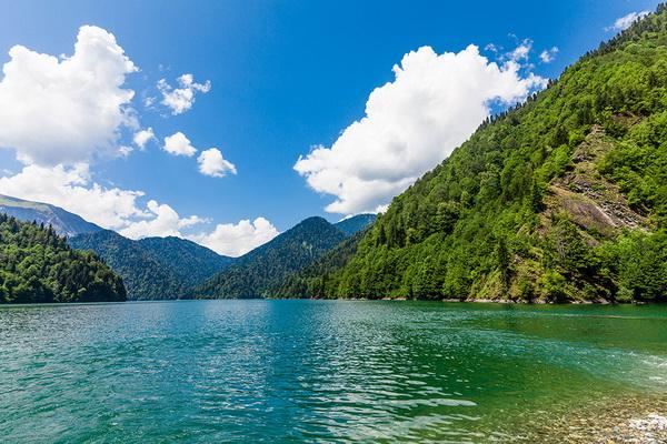 достопримечательности Абхазии озеро рица