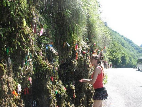 достопримечательности Абхазии водопад девичьи слёзы