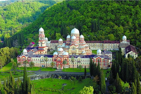достопримечательности Абхазии 2017 новоафонский монастырь