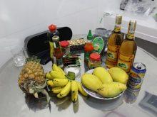 Еда на острове Фукуок во Вьетнаме в кафе и дома