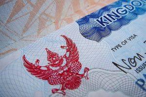 виза в таиланд в 2017 2018 г. штамп по прилёту и виды типы виз в таиланд