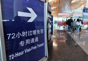 безвизовый транзит 24, 72, 144 часа в 2017 и 2018 годах , в китай без визы