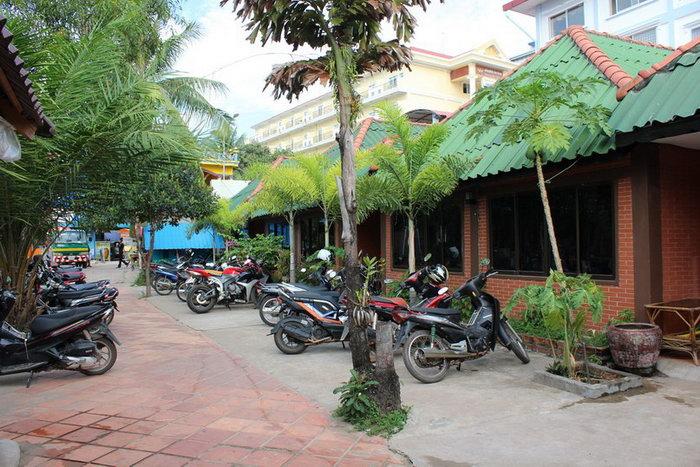 Аренда байка в Камбодже
