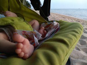 Месяц с грудным ребенком на Фукуоке
