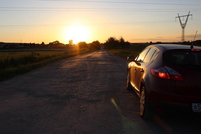 Дорога из Москвы в Беларусь на машине