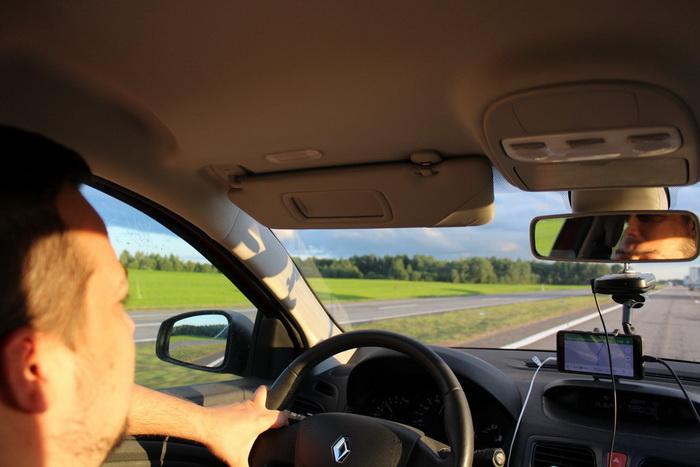 на машине из Москвы в Беларусь о дороге
