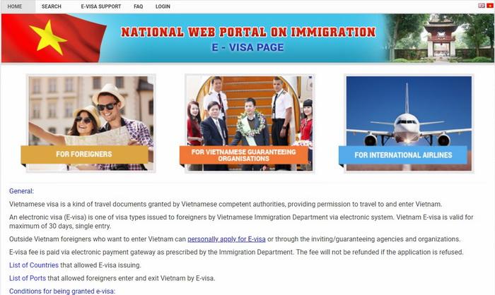 электронная виза во Вьетнам в 2018 2019 г.