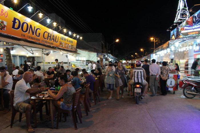 Вьетнам, Фукуок, Ночной рынок