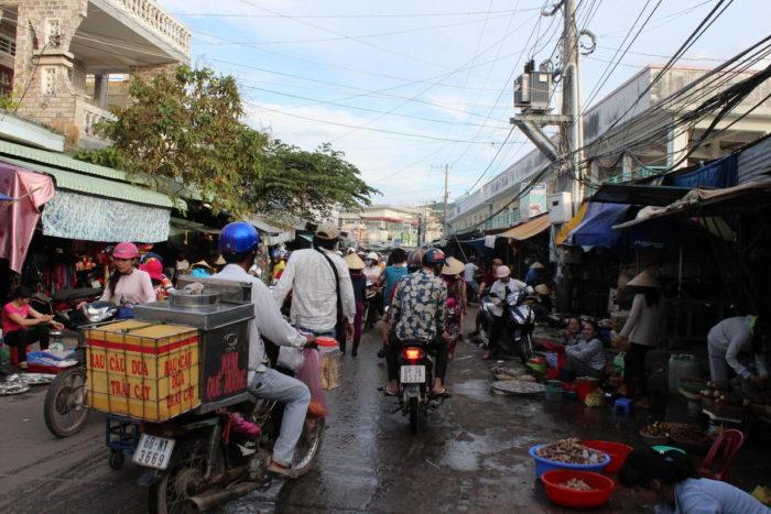 Фукуок, Вьетнам, дневной рынок