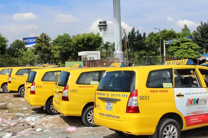 такси в аэропорту Хошимина как не платить лишнего