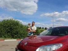поездка в Беларусь трасса Москва Минск М1