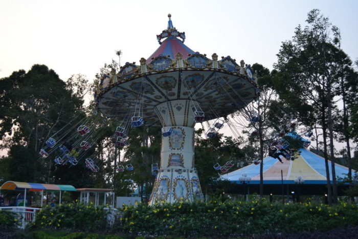 Аквпарка на Фукуоке - винперл ленд