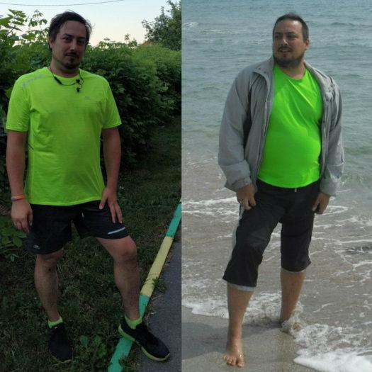 Фото похудение за год