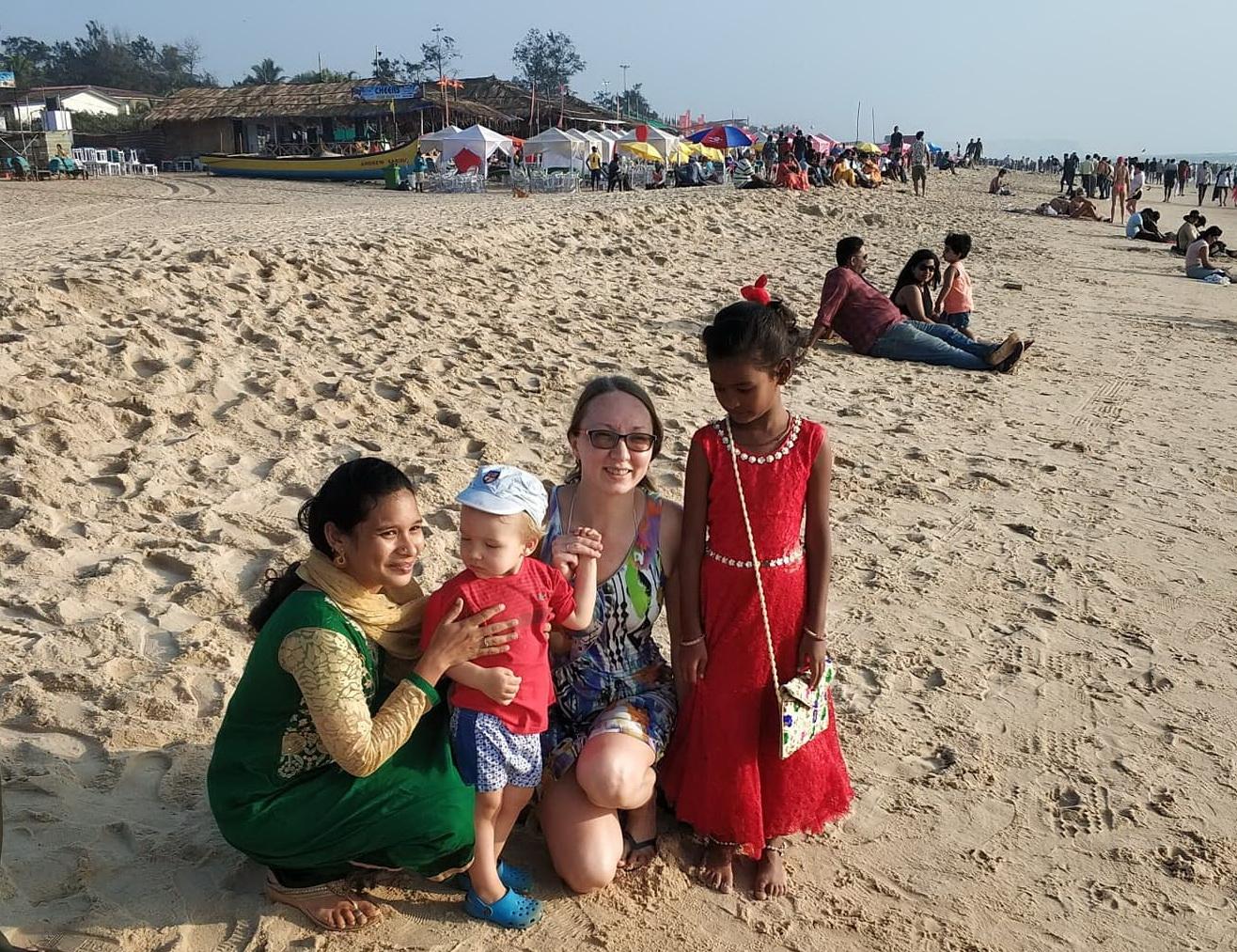 отдых с детьми в Индии в гоа 2020 отзывы