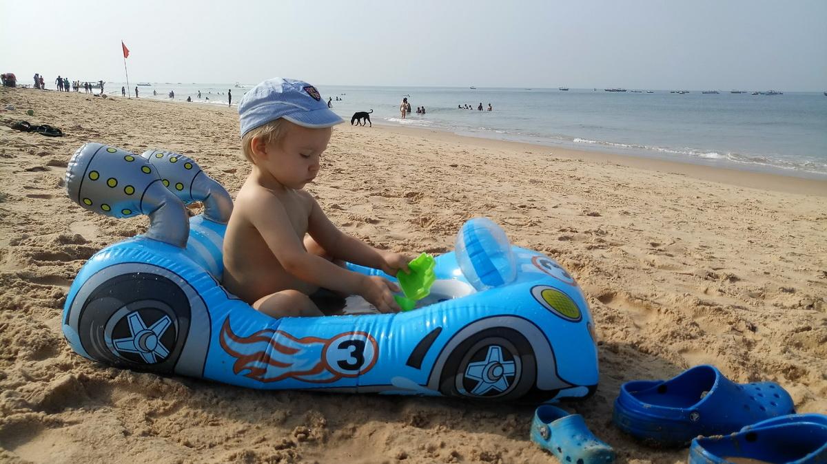 отдых с детьми в Индии в гоа 2020 отзывы пляж досуг