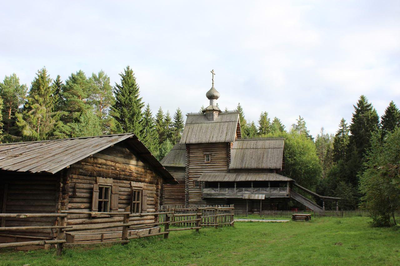 что посмотреть по дороге в питер и в карелию музей василево преображенская церковь 1732 года