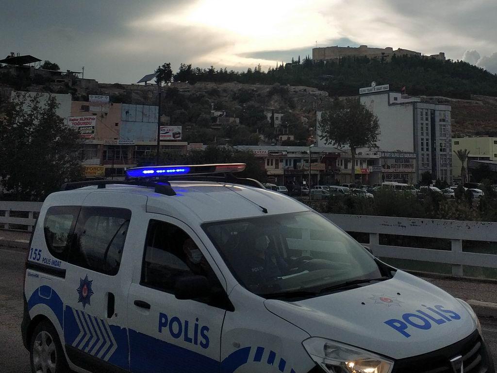 Полиция и масочный режим в Турции