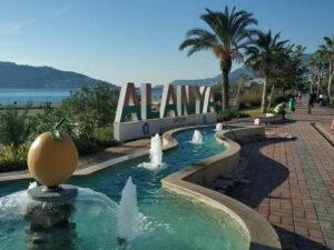 Погода в Алании в Турции в ноябре