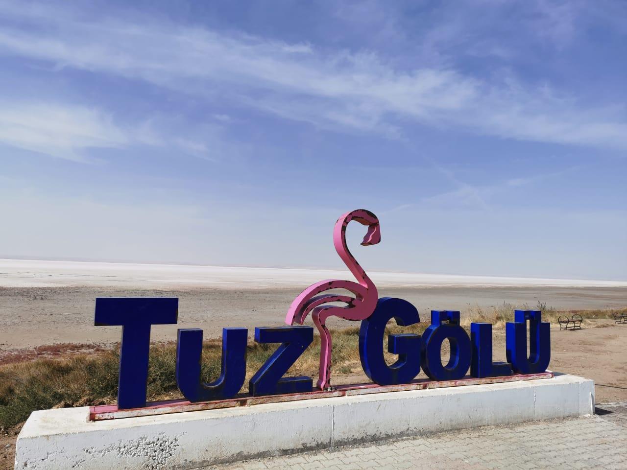 в турцию на машине из России в 2020 году соленое озеро Туз после Анкары