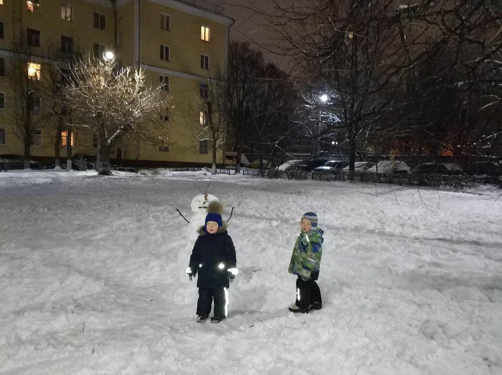 Чем заняться зимой с ребенком