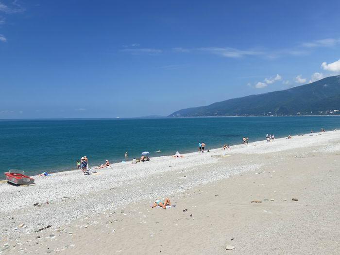 погода в Абхазии в июне месяце по курортам с температурой воды и воздуха