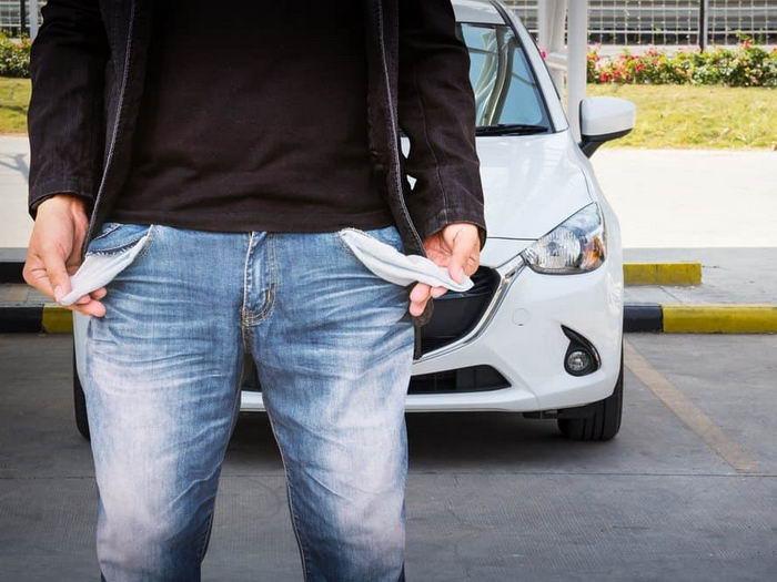 водитель с пустыми карманами