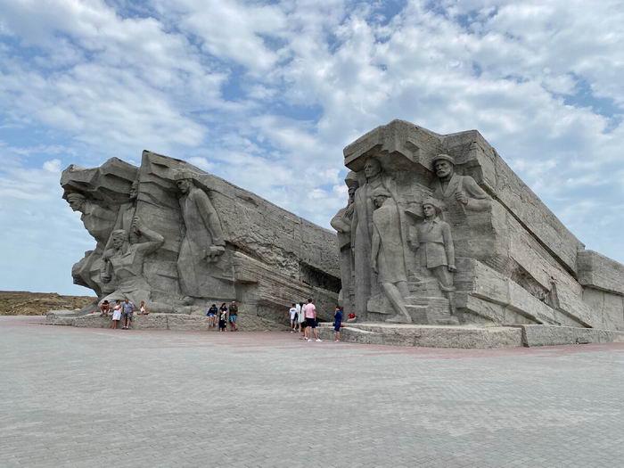 Достопримечательности Крыма на карте - Аджимушкайские каменоломни