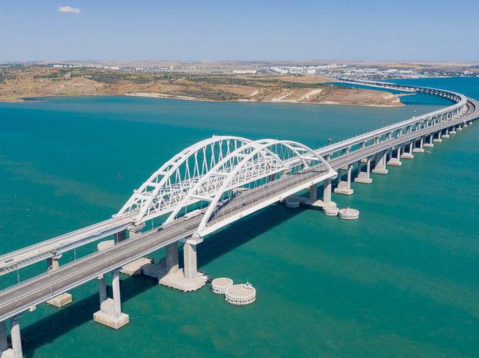 Достопримечательности Крыма - Крымский мост