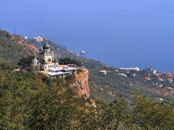 церковь вознесения христова форосская что посмотреть в Крыму достопримечательности крыма