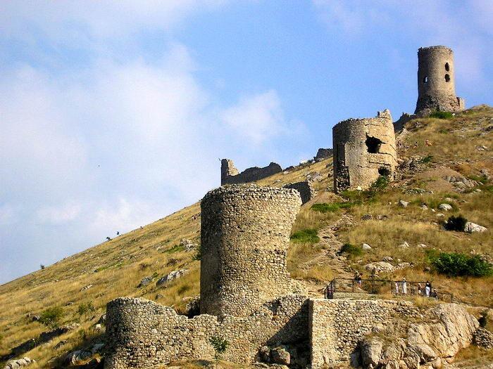 Что посомтреть в Крыму - крепость Чембало