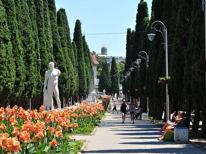 симеизский парк что посмотреть в Крыму достопримечательности крыма