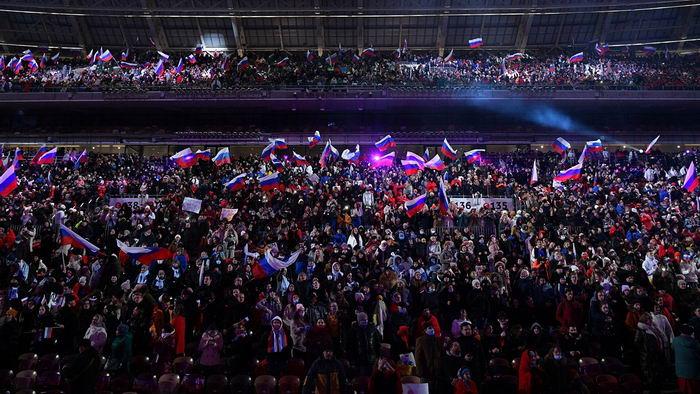Крымская весна в лужниках 2021
