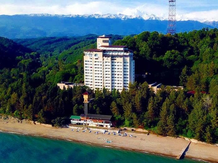 пансионат Мюссера, Пицунда, Абхазия